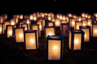 Lanternes nuit