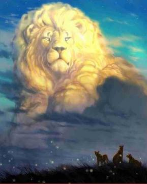 Lion nuage
