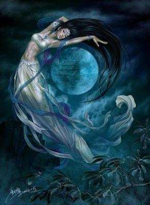 Lune femme