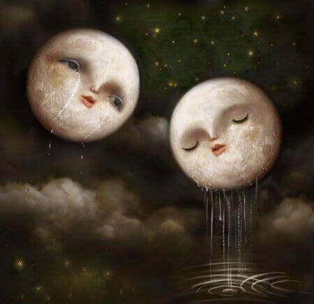 Lunes pleurant