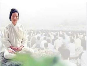 Master in meditation