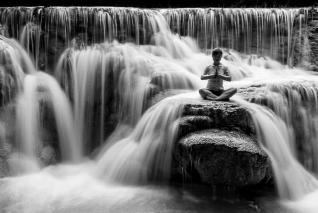 Meditation cascade