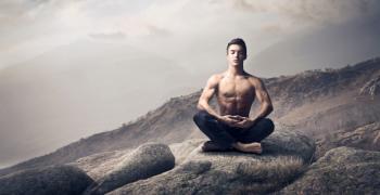 Meditation homme