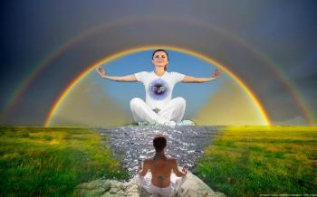Meditation moment present 1