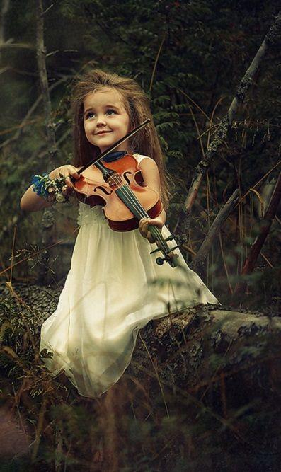 Musique fillette violon