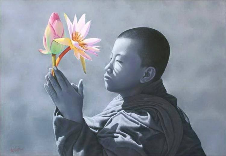 Namaste fleur