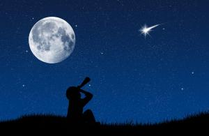 Nuit etoile filante