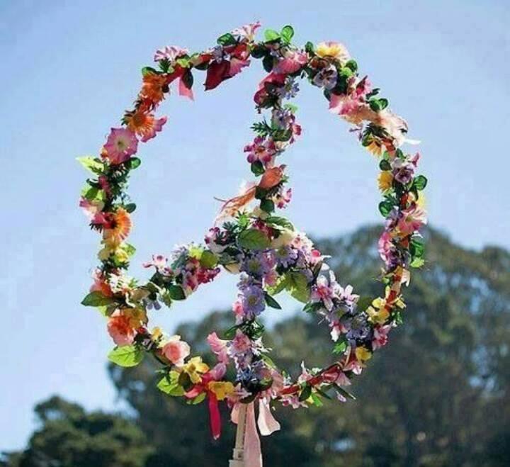 Paix fleurs