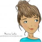 Portrait turquoise