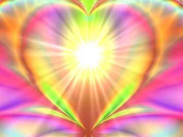 Rayonner coeur