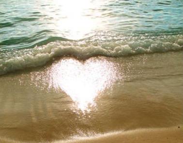 Reflet coeur symbole