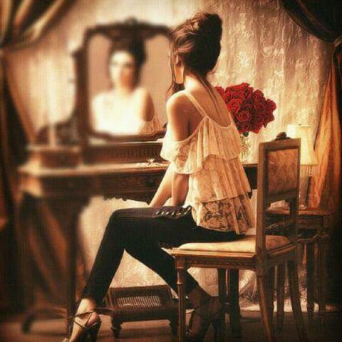 Reflet femme