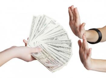 Refuser argent