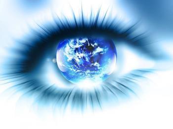 Terre oeil