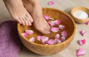 The rejuvenating footbath