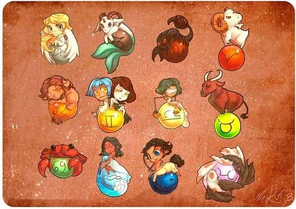 Zodiaque signes